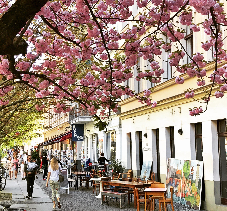 Möbelladen Berlin Außenansicht