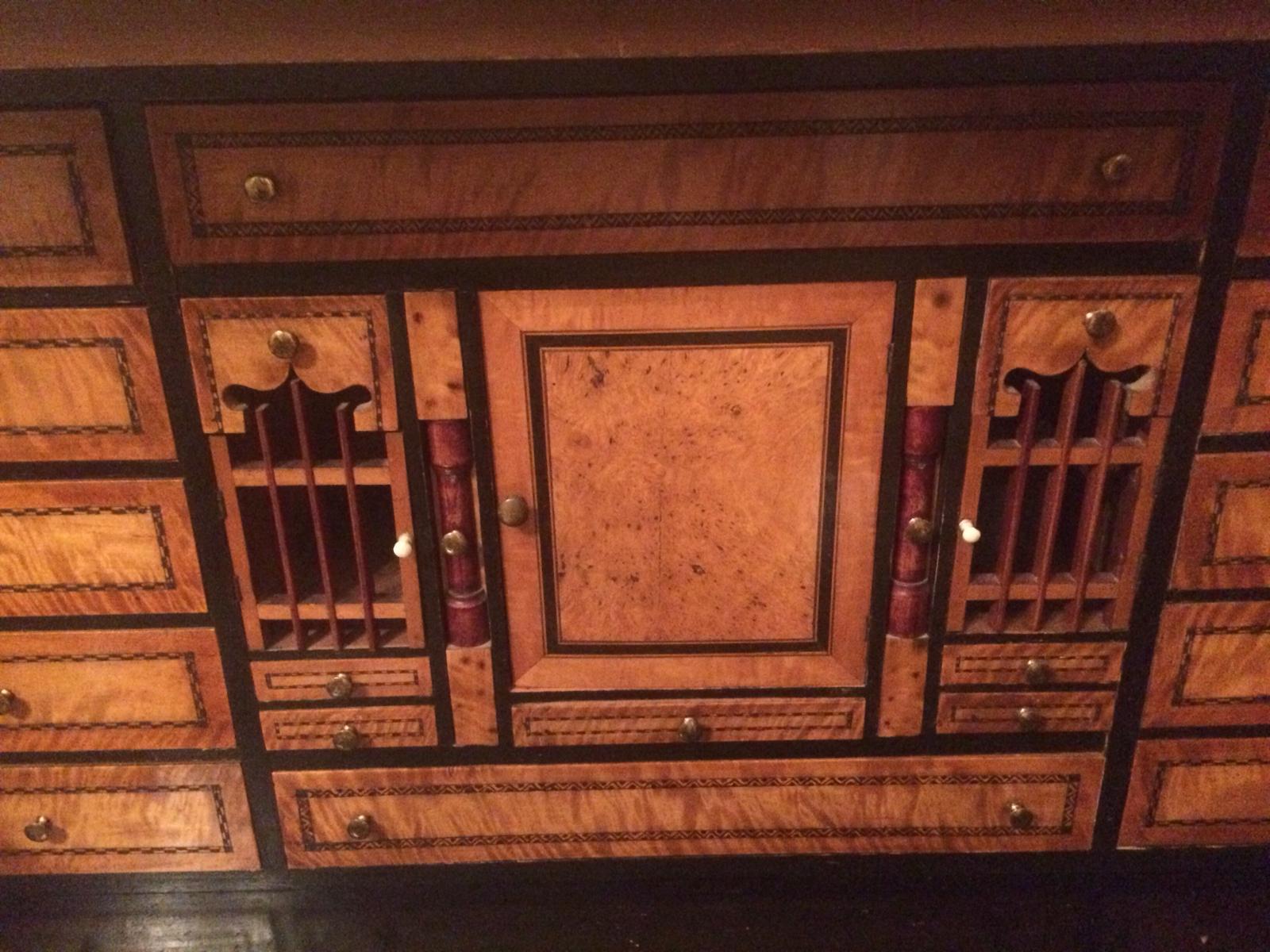 Schreibschrank Kabinett