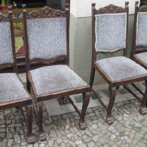 Werkstatt Eiche Set Stühle