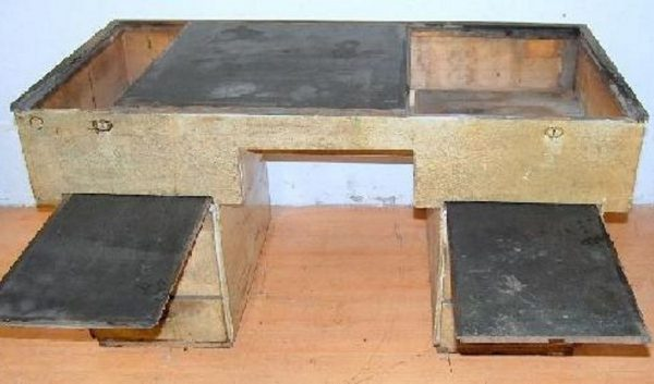 Bauhaus Schule Tisch Werkstatt Kiefer