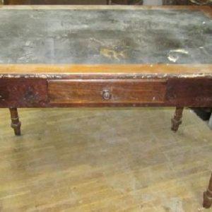 Werkstatt Kiefer Tisch Schublade