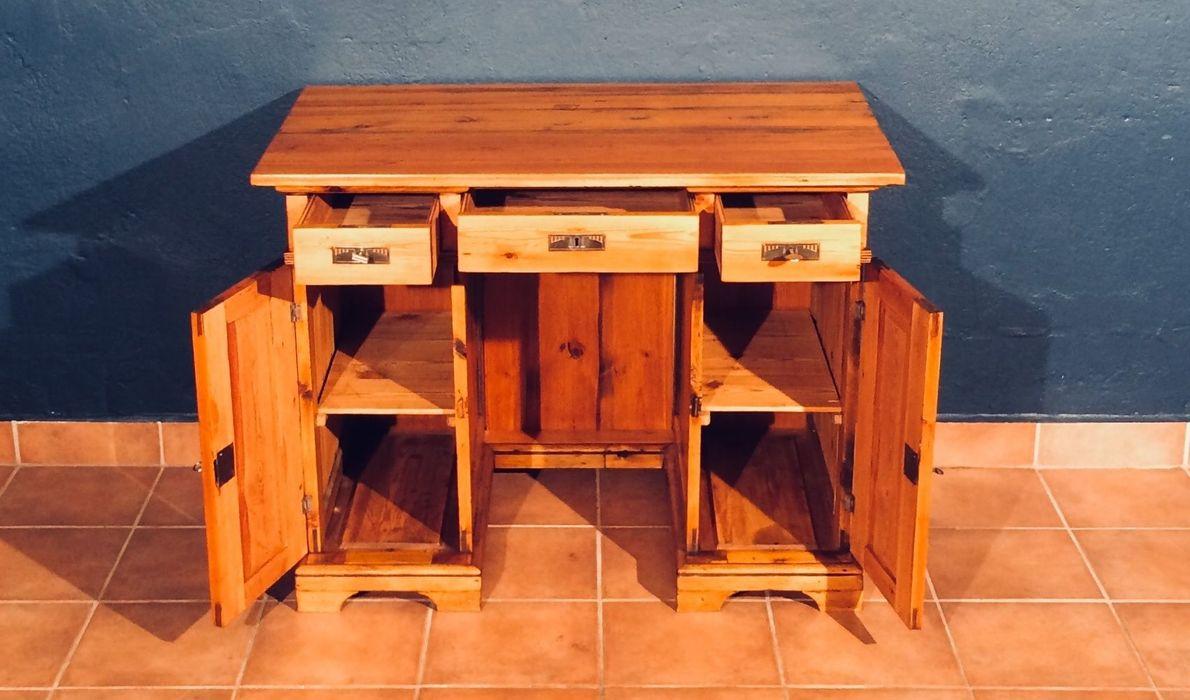 Schreibtisch Tisch Kiefer