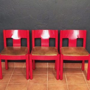 Leder Stuhl Modern