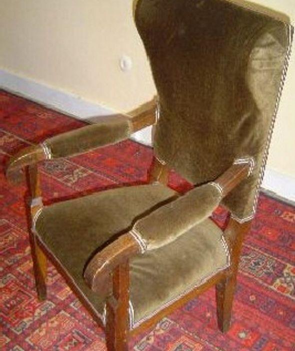 Werkstatt Biedermeier Sessel Ohrensessel