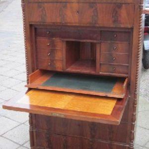 Schreibschrank Biedermeier Louis-Philippe Nudelmeier