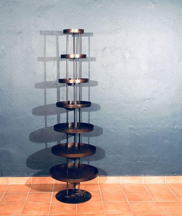 Art Deco Bauhaus Regal Metall