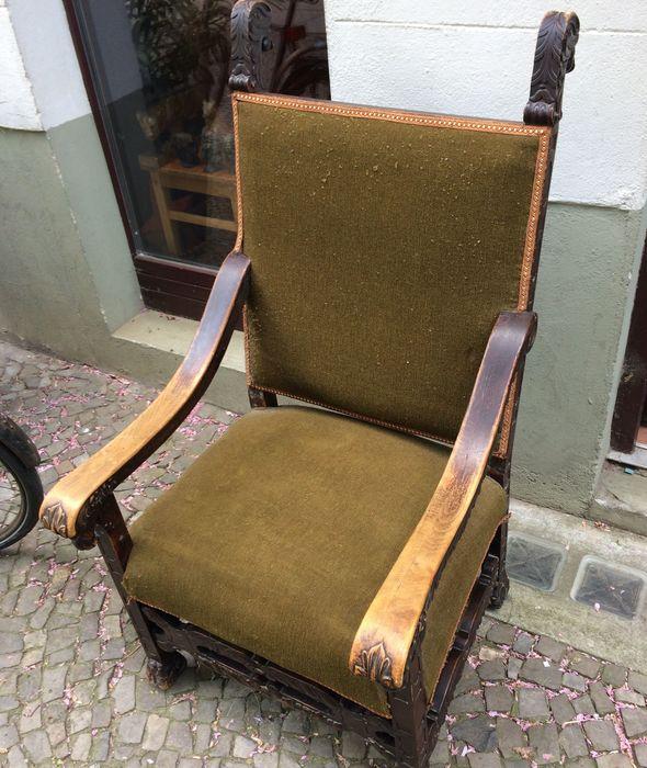 Werkstatt Sessel Stuhl Polster