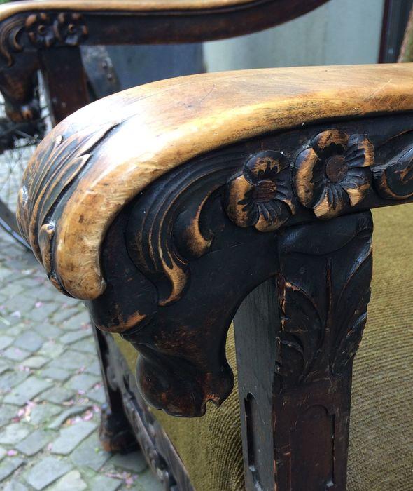 Sessel Gründerzeit Stuhl Werkstatt