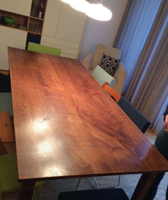 Werkstatt bei Kunden gebaut Tisch Bauhaus