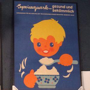 DDR Plakat Quark