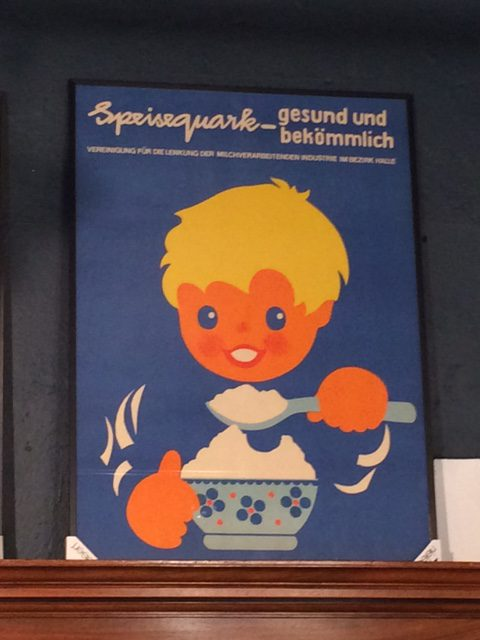 DDR Plakat Quark