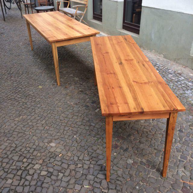 Maßtisch Holzgestell