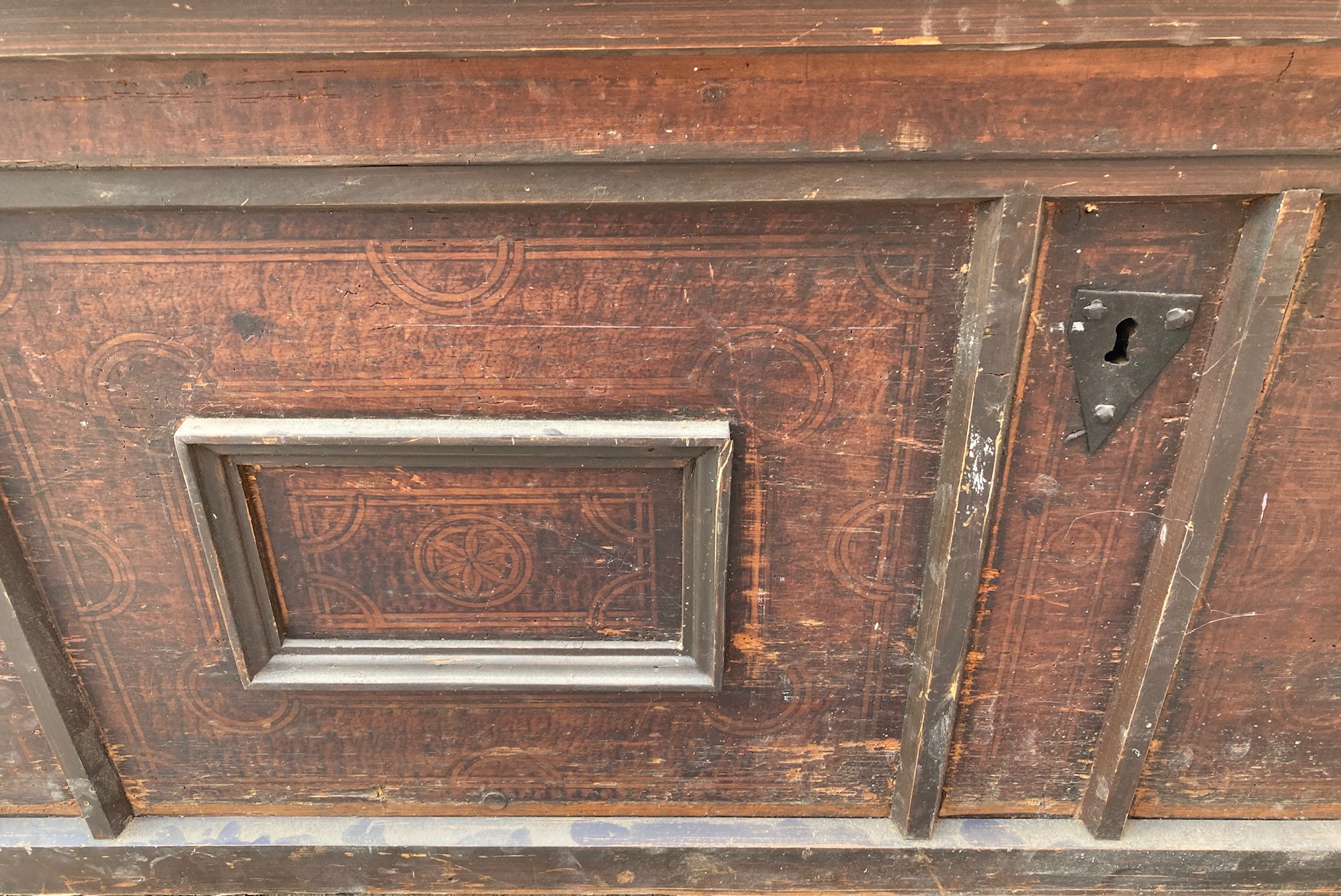 Detail Truhe