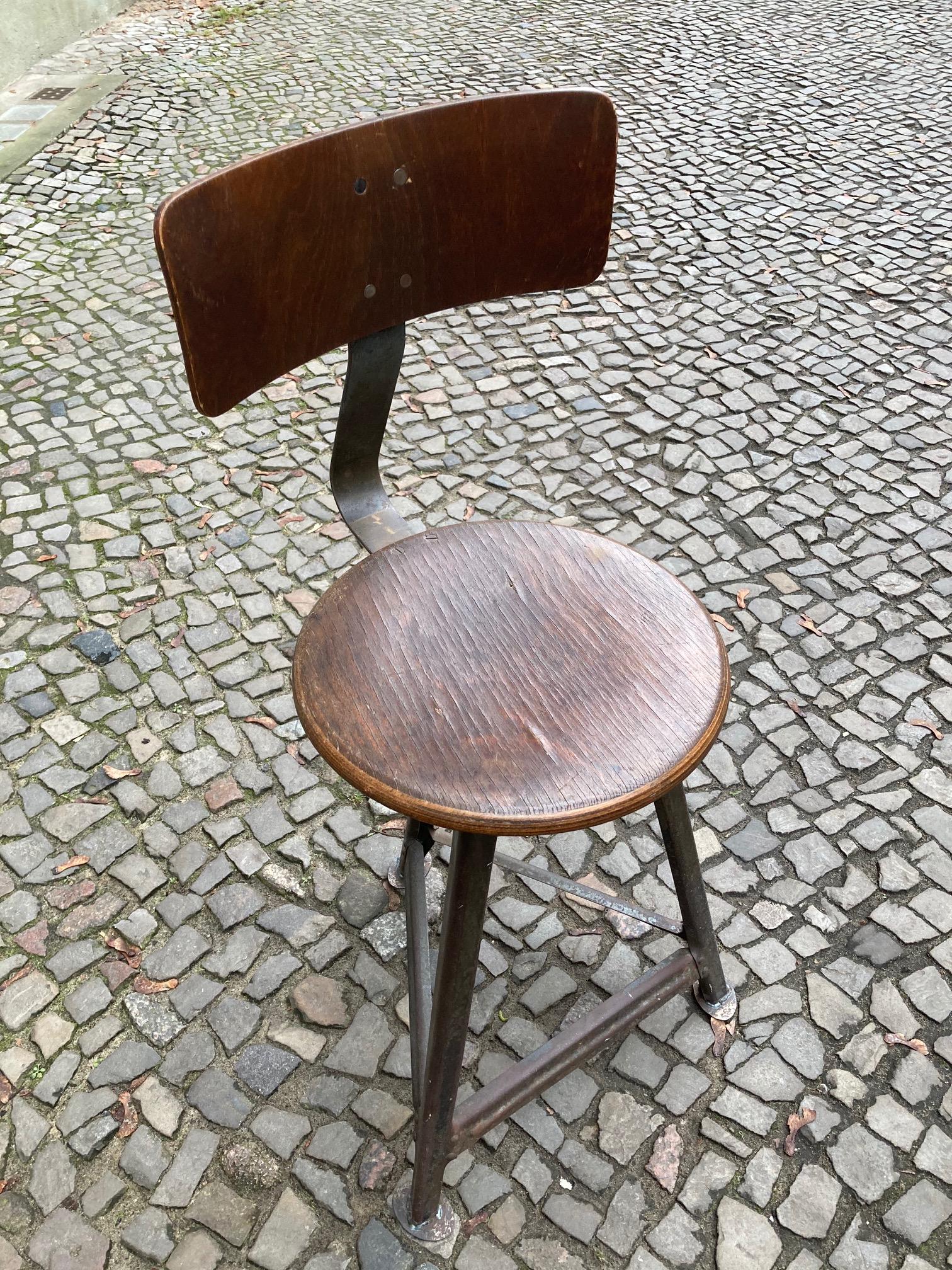 Stuhl Industriedesign